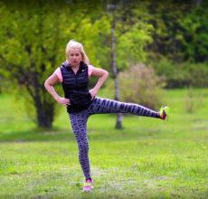 Cvičení zadek a HSS