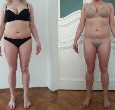 Před a po 1 měsíci