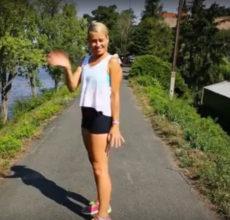 Cvičení na nohy, zadek a břicho